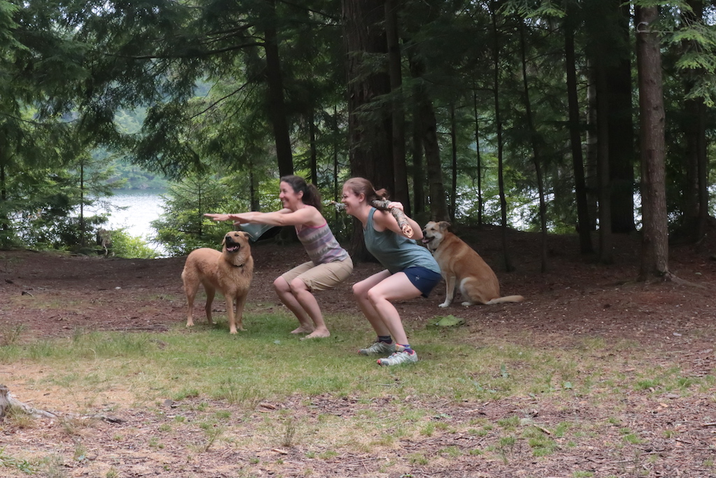 Squats with Dogs2